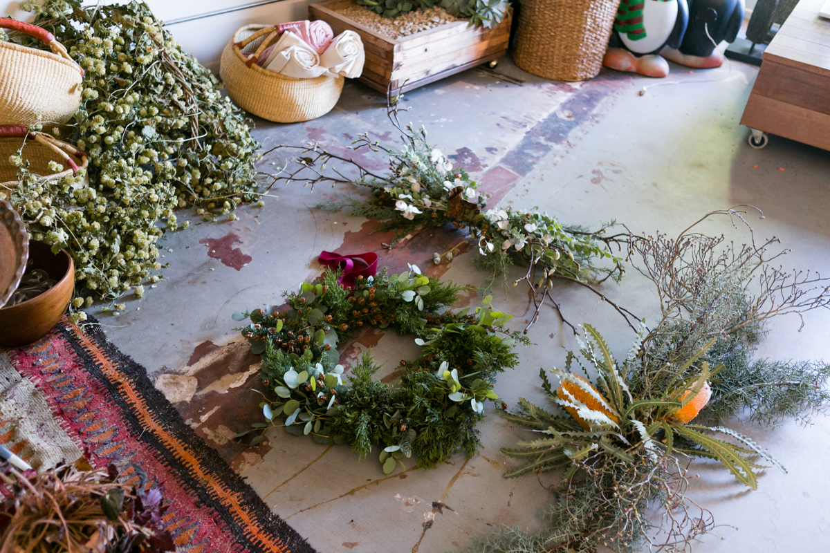 A Wreath-Making Workshop with Heather Taylor and Hollyflora 11