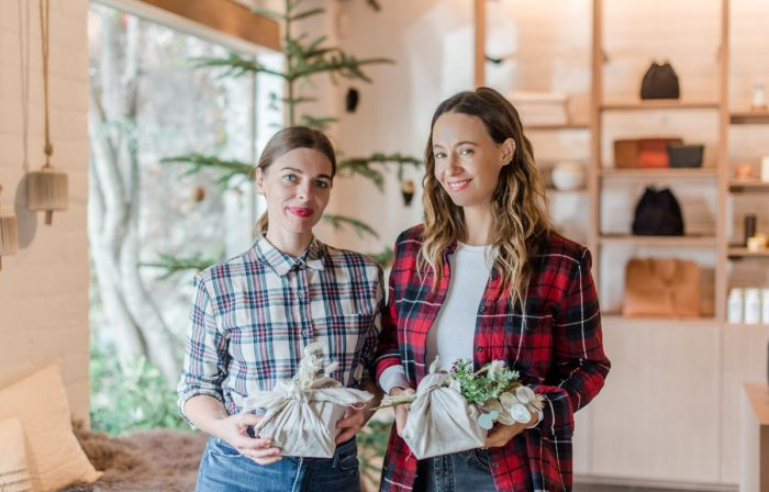 DIY Holiday Gift Wrapping with Simone LeBlanc