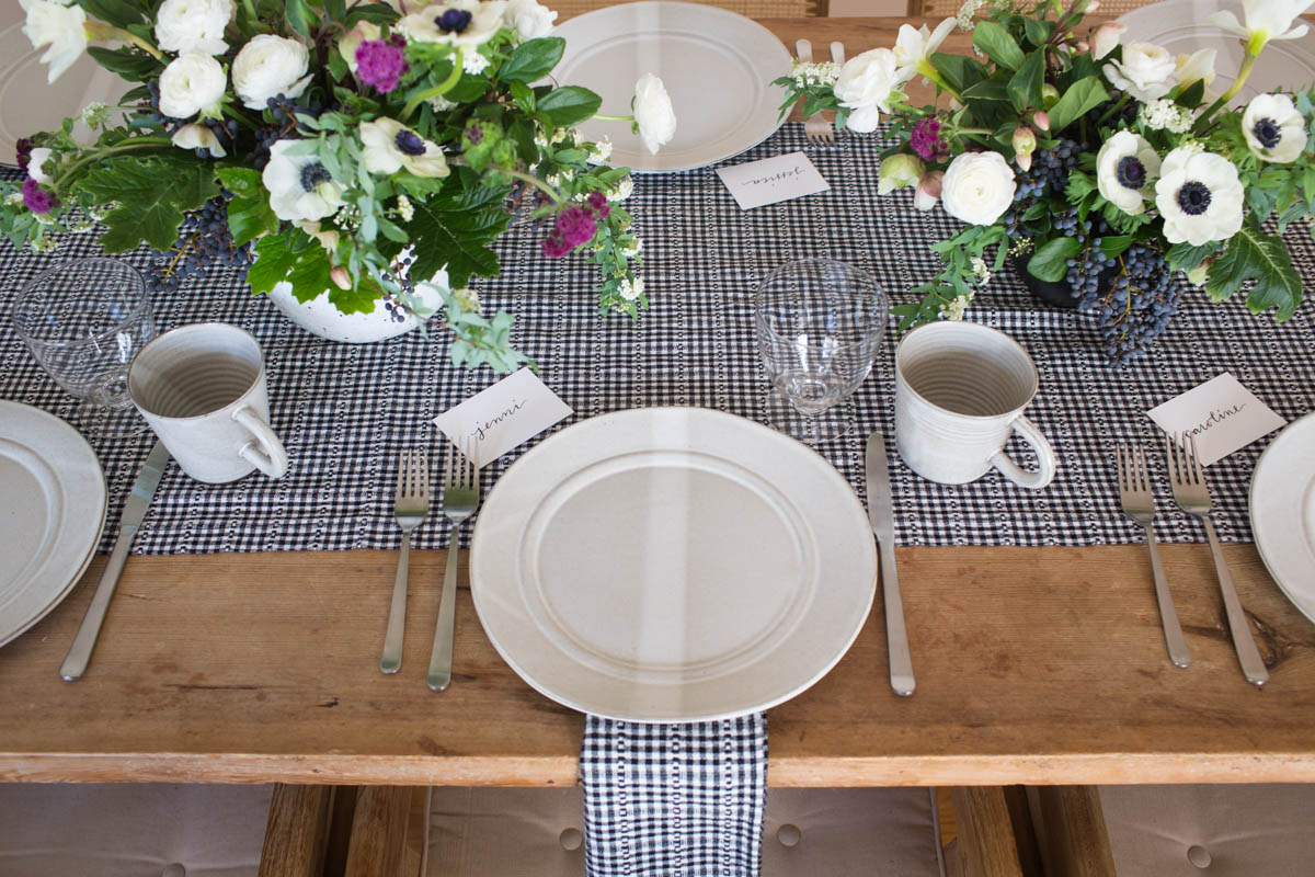Setting the Table for a Valentine's Day Lunch 6
