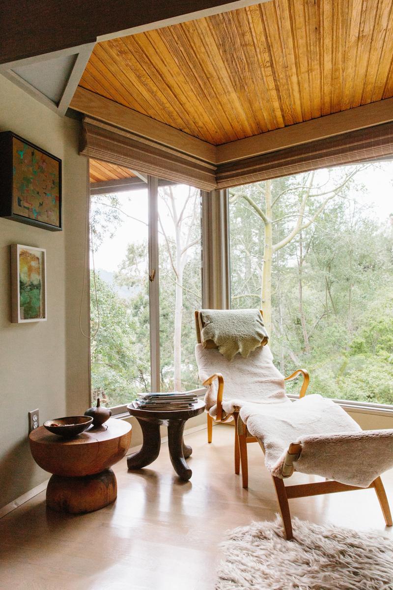 Inside Pamela Shamshiri's Rudolph Schindler-Designed Home
