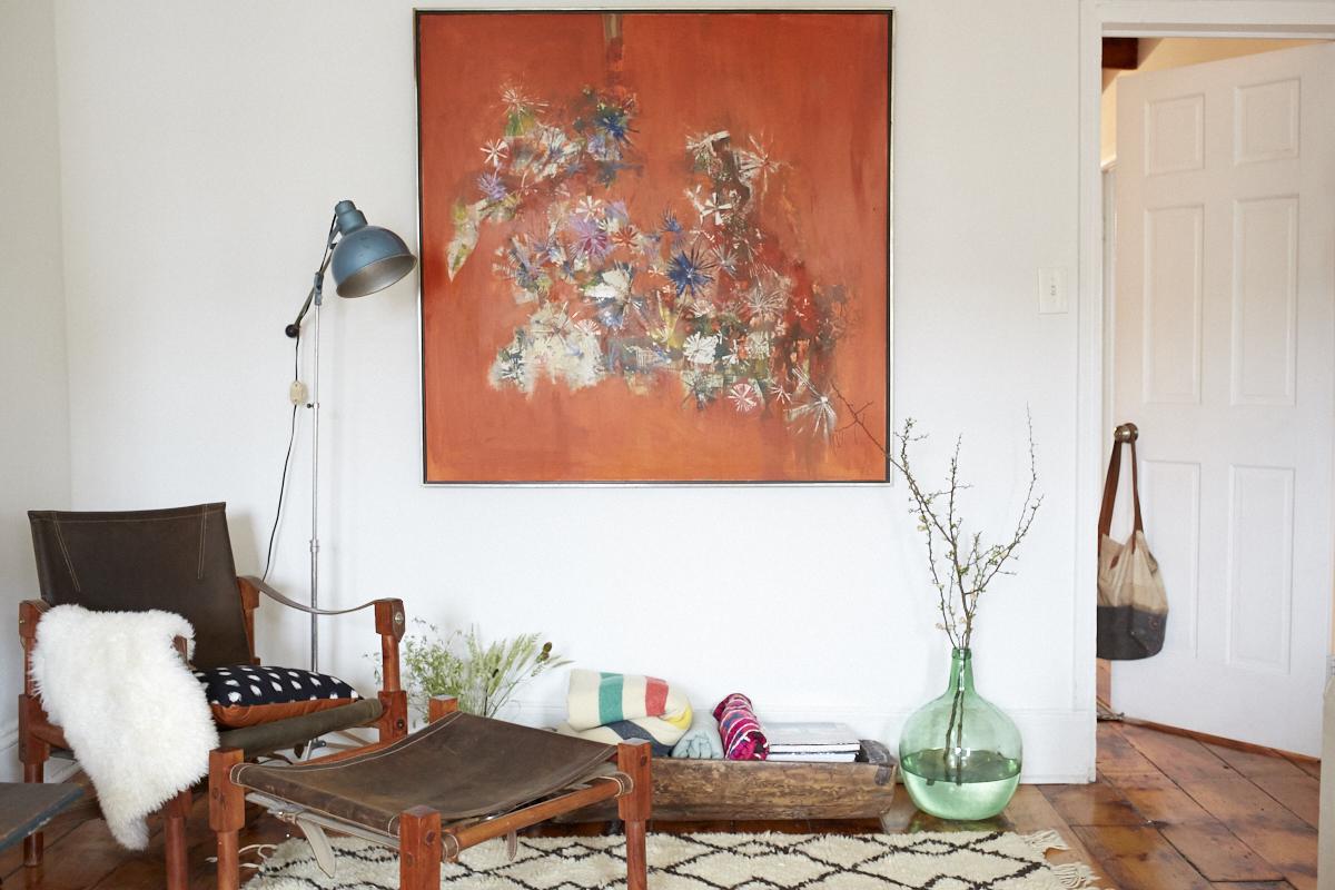 Inside Lizzie Fortunato's Art-Filled Brooklyn Brownstone 0