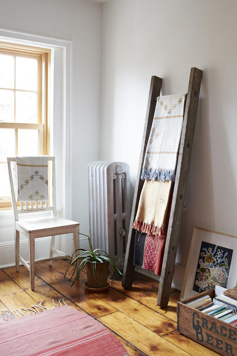 Inside Lizzie Fortunato's Art-Filled Brooklyn Brownstone