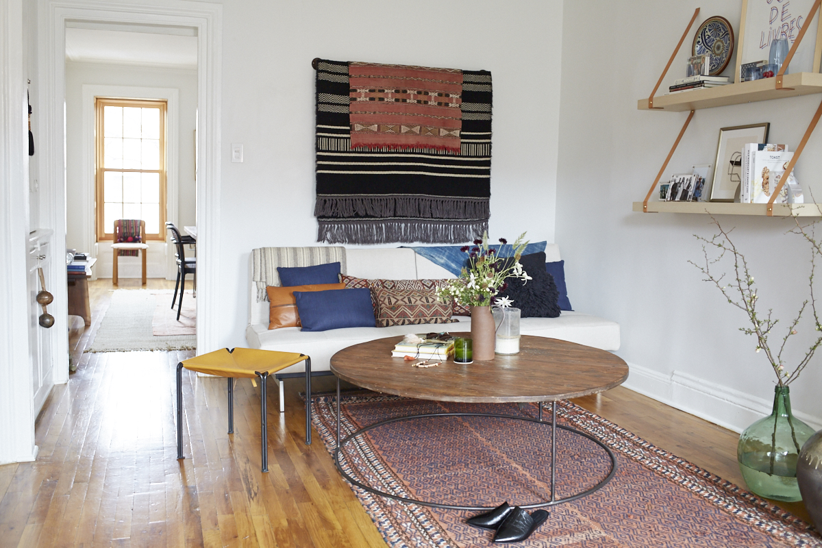 Inside Lizzie Fortunato's Art-Filled Brooklyn Brownstone 10