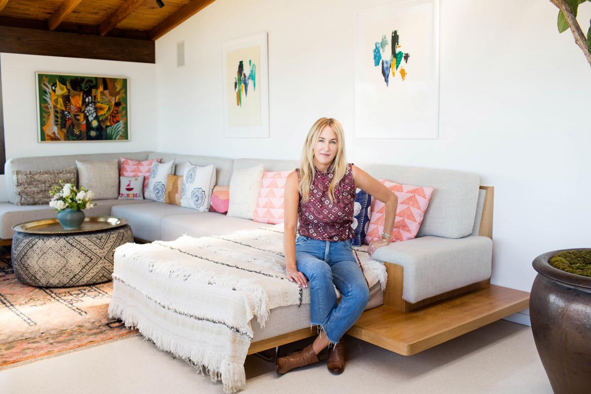 Inside Lela Becker's Cozy Bohemian Hideaway 0