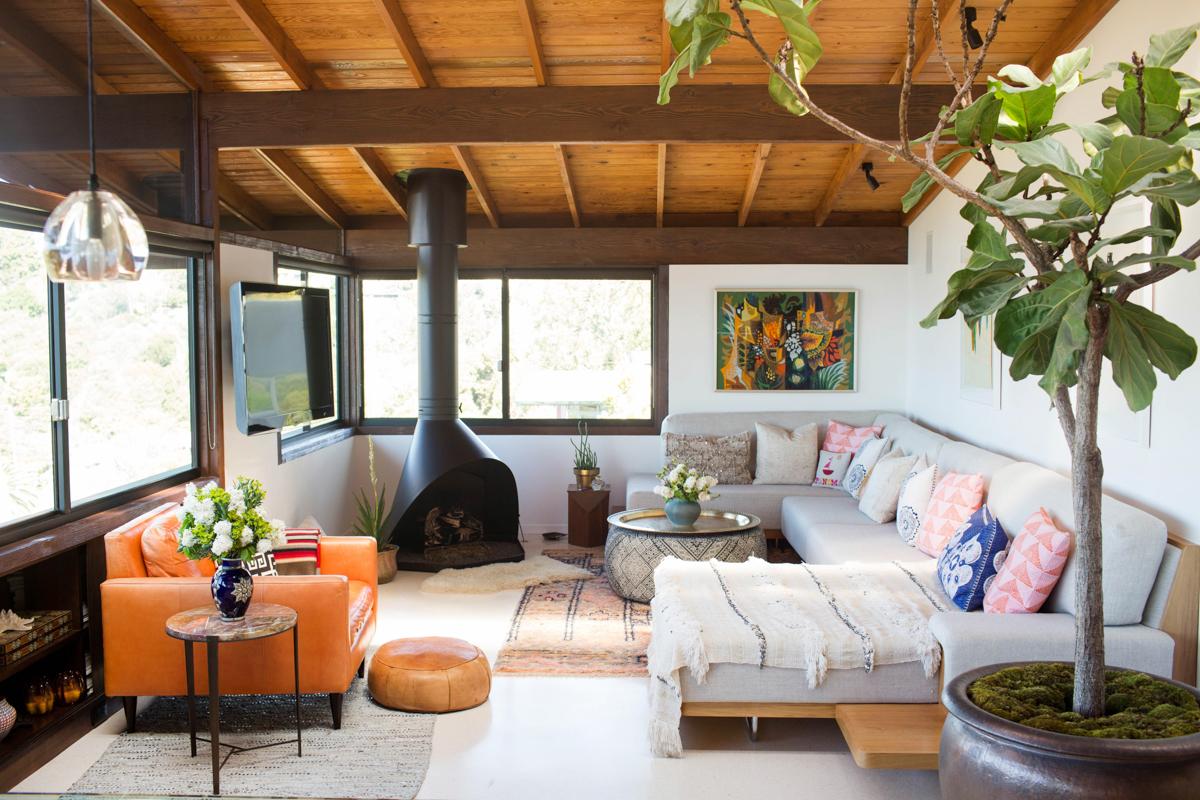 Inside Lela Becker's Cozy Bohemian Hideaway 3