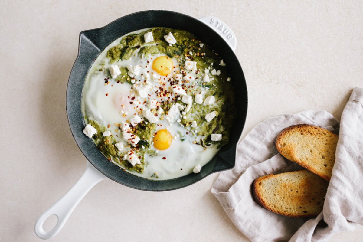 Start Your Day with this Kale Shakshuka Recipe