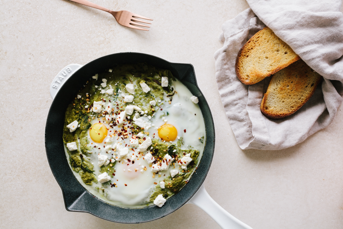 Start Your Day with this Kale Shakshuka Recipe 3