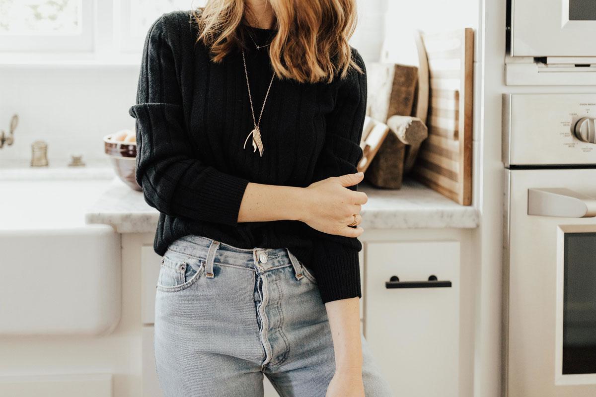 Style Blogger Alicia Lund's Easy Everyday Uniform 3
