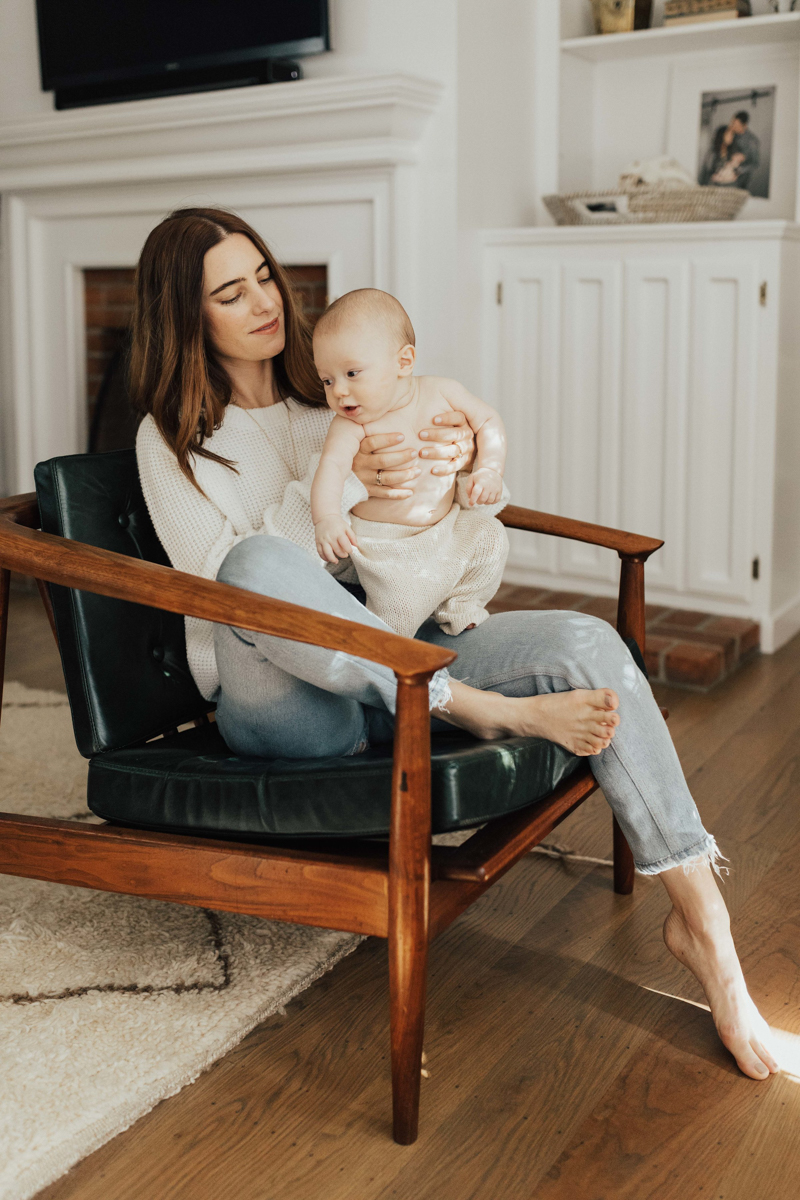 At Home with Style Blogger and New Mother Alicia Lund