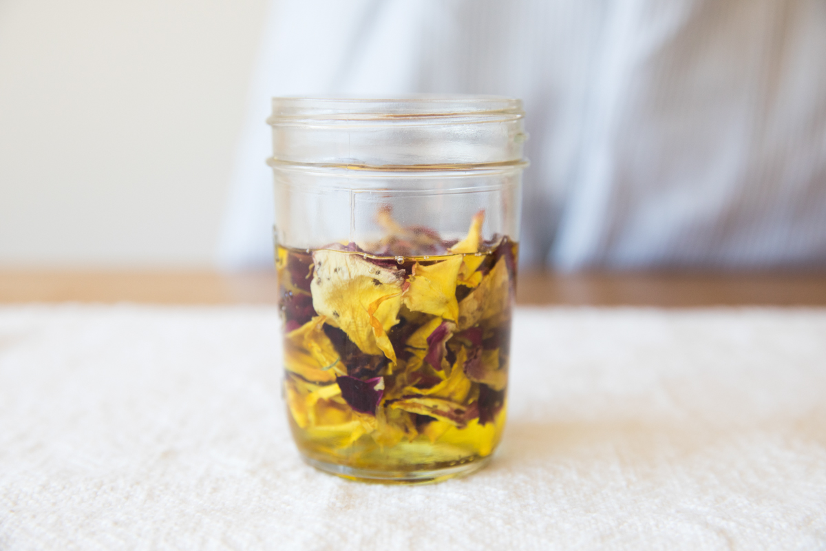 An Herbal Body Oil DIY with Women's Heritage