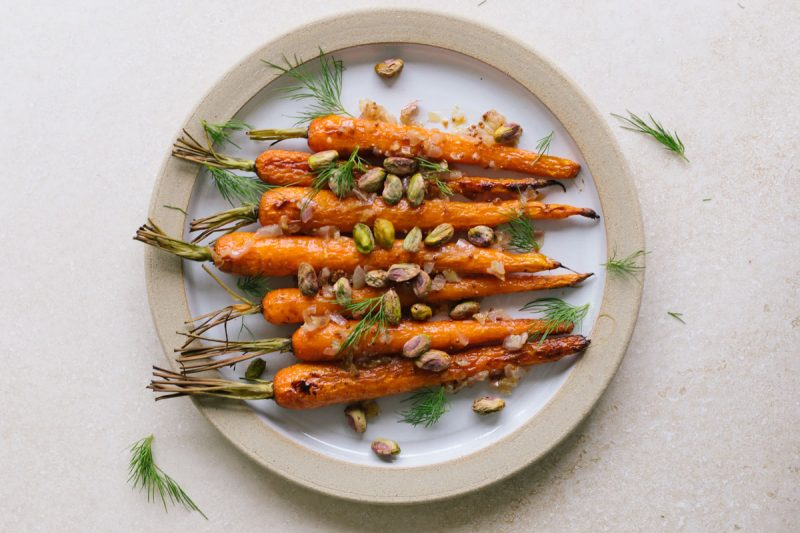 Brown Butter Carrots from Sarah Britton of Naturally Nourished