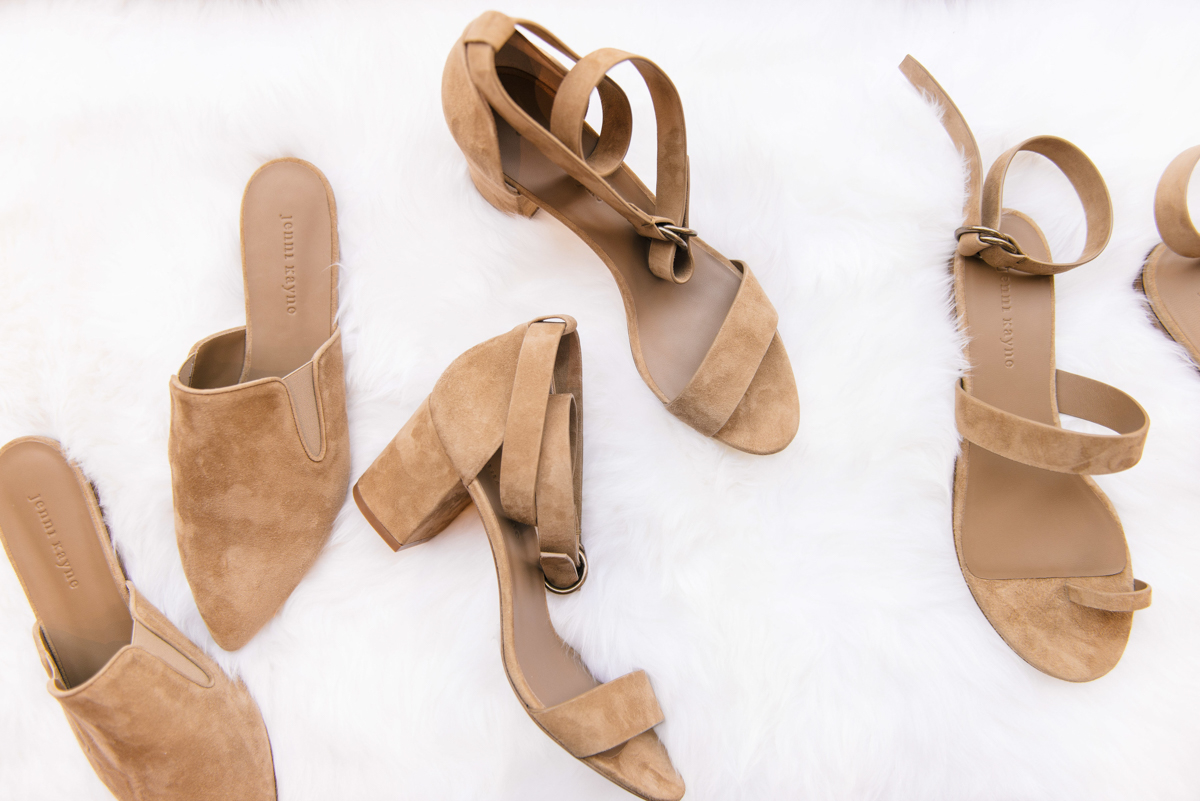 Introducing the Dark Sand Suede Shoe Collection