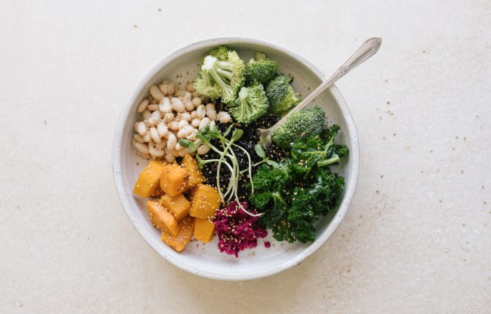 Lily Kunin's Grain Bowl with Miso-Tahini Dressing