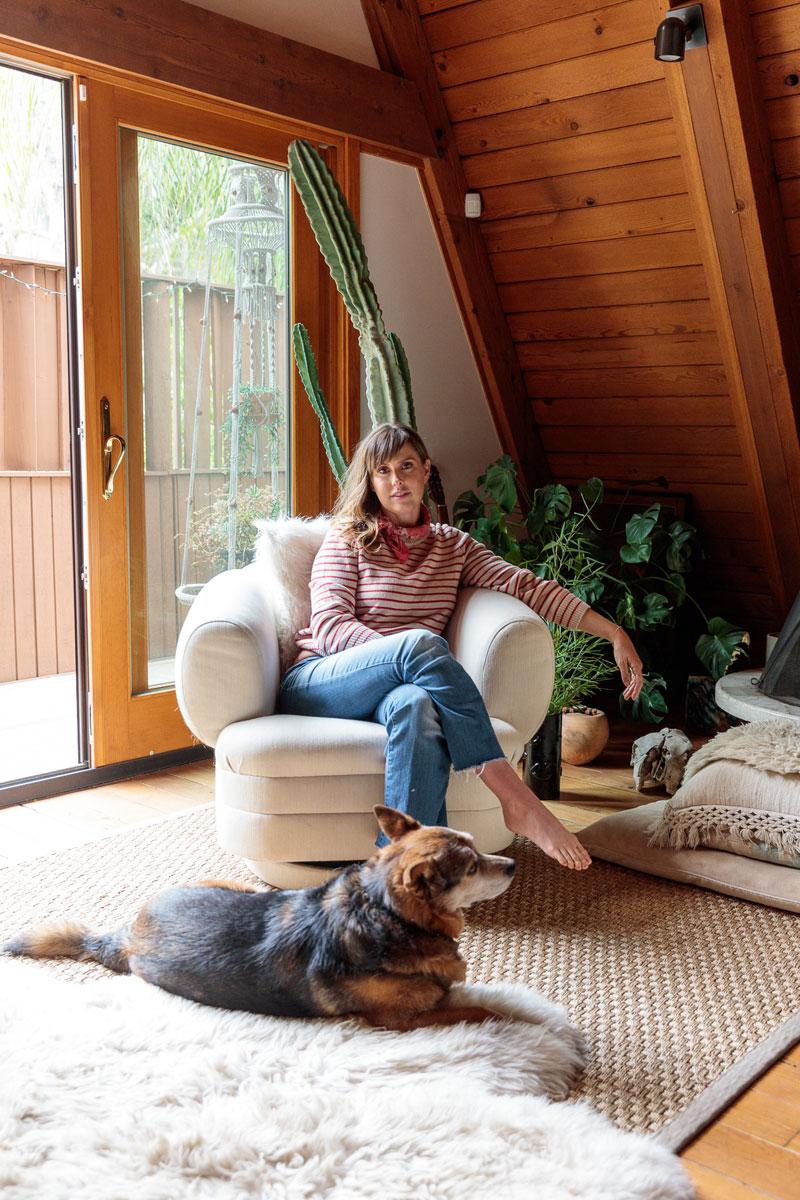 Ceramic Artist Desanka Fasiska's A-Frame Home