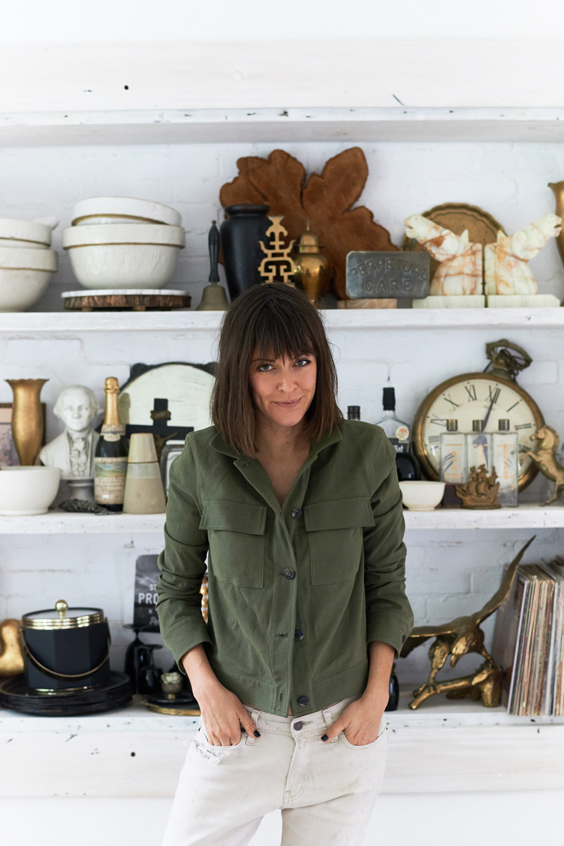 Leanne Ford's Relaxed Work Style