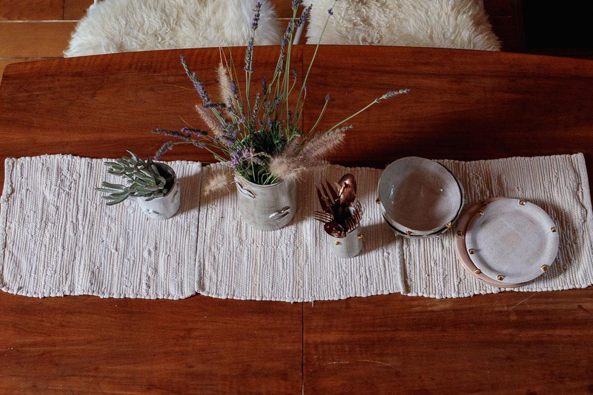 Ceramic Artist Desanka Fasiska's A-Frame Home 8