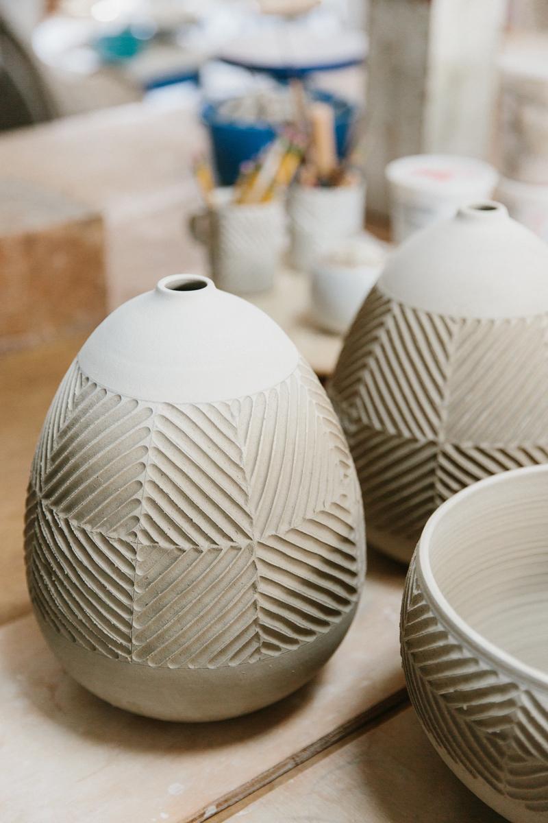 Inside Ceramic Artist Beth Katz's Studio