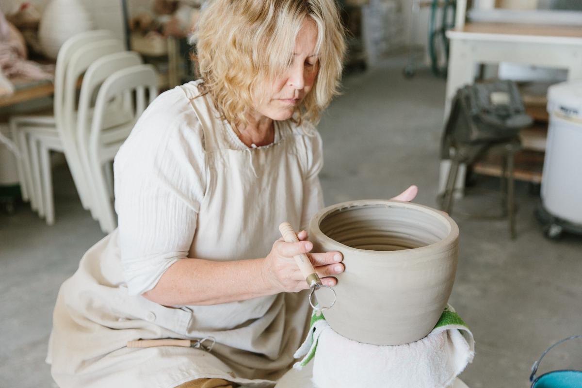 Inside Ceramic Artist Beth Katz's Studio 6