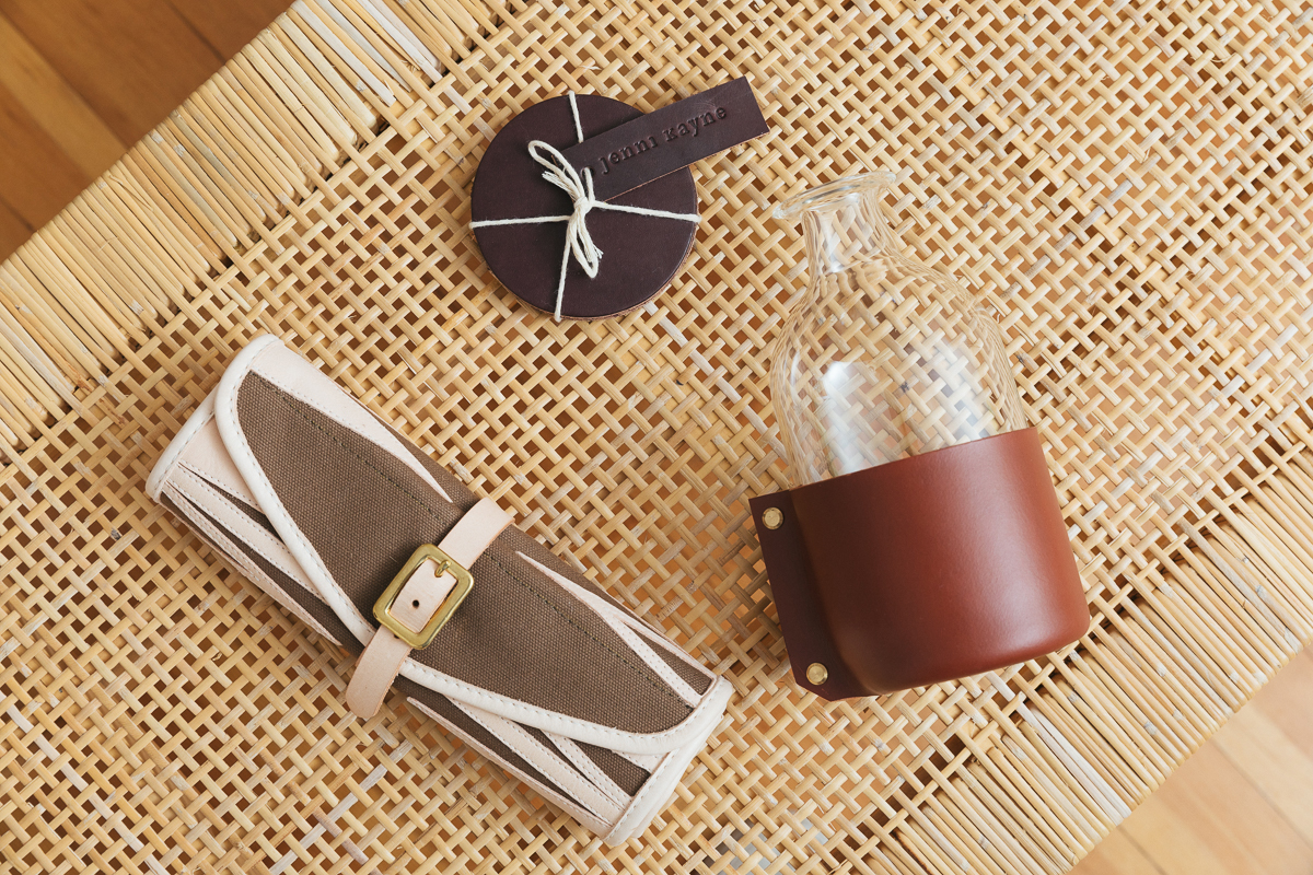 Better in Leather: Built-to-Last Accessories for the Home