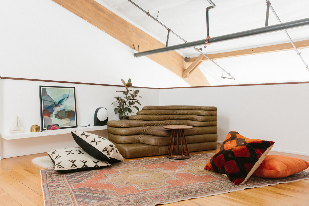 A Tour of Interior Designer Sally Breer's Minimalist Loft 9