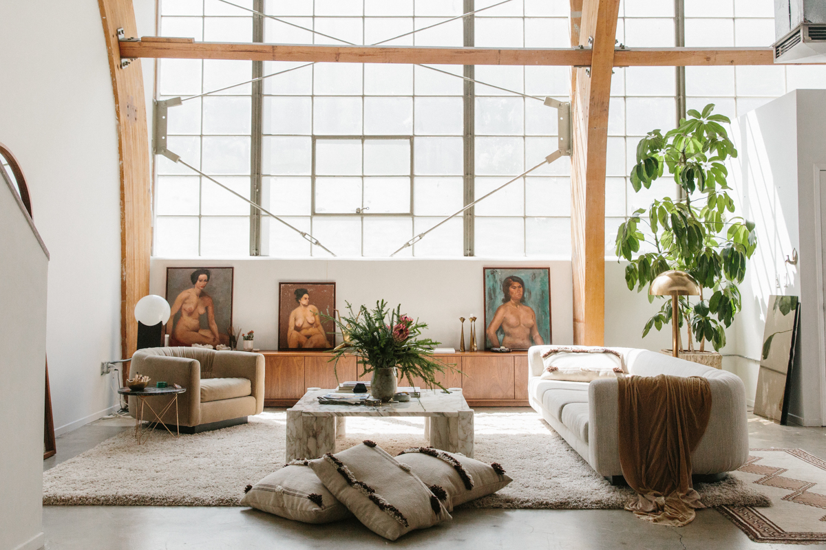 A Tour of Interior Designer Sally Breer's Minimalist Loft 0