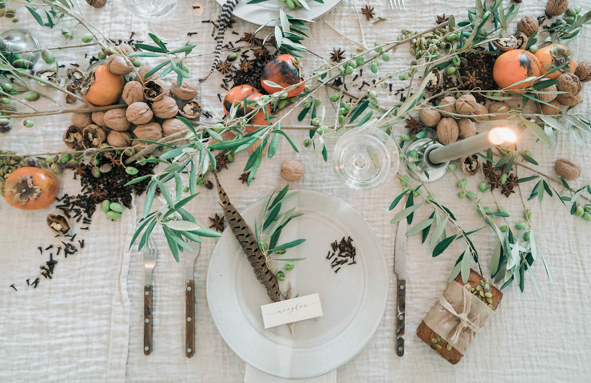 In the Veggie Kitchen: Setting the Table for Thanksgiving 0