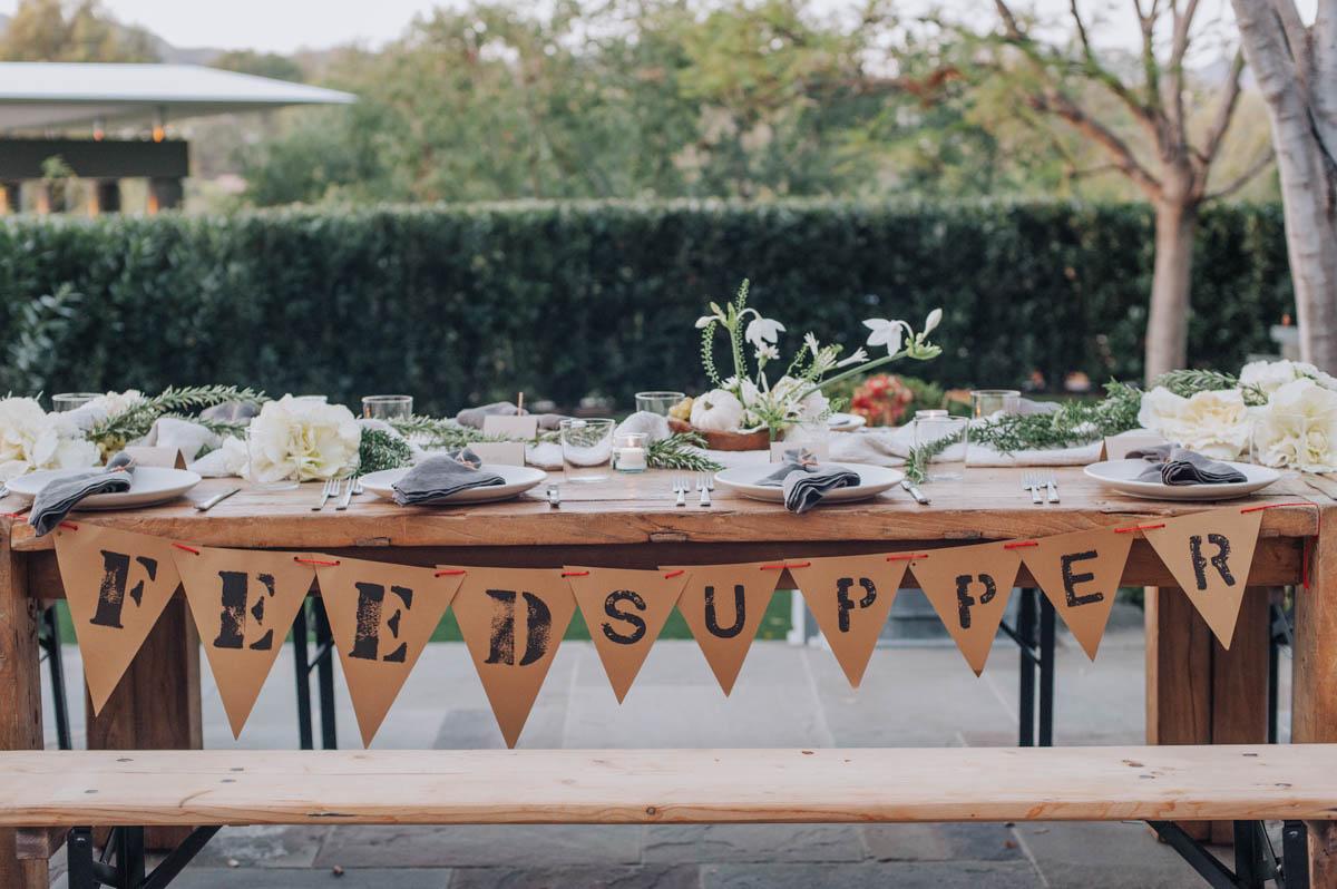 A Friendsgiving Gathering with FEED and Lauren Bush Lauren 6