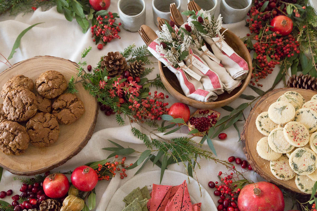 In the Veggie Kitchen: Lori Stern's Holiday Cookies
