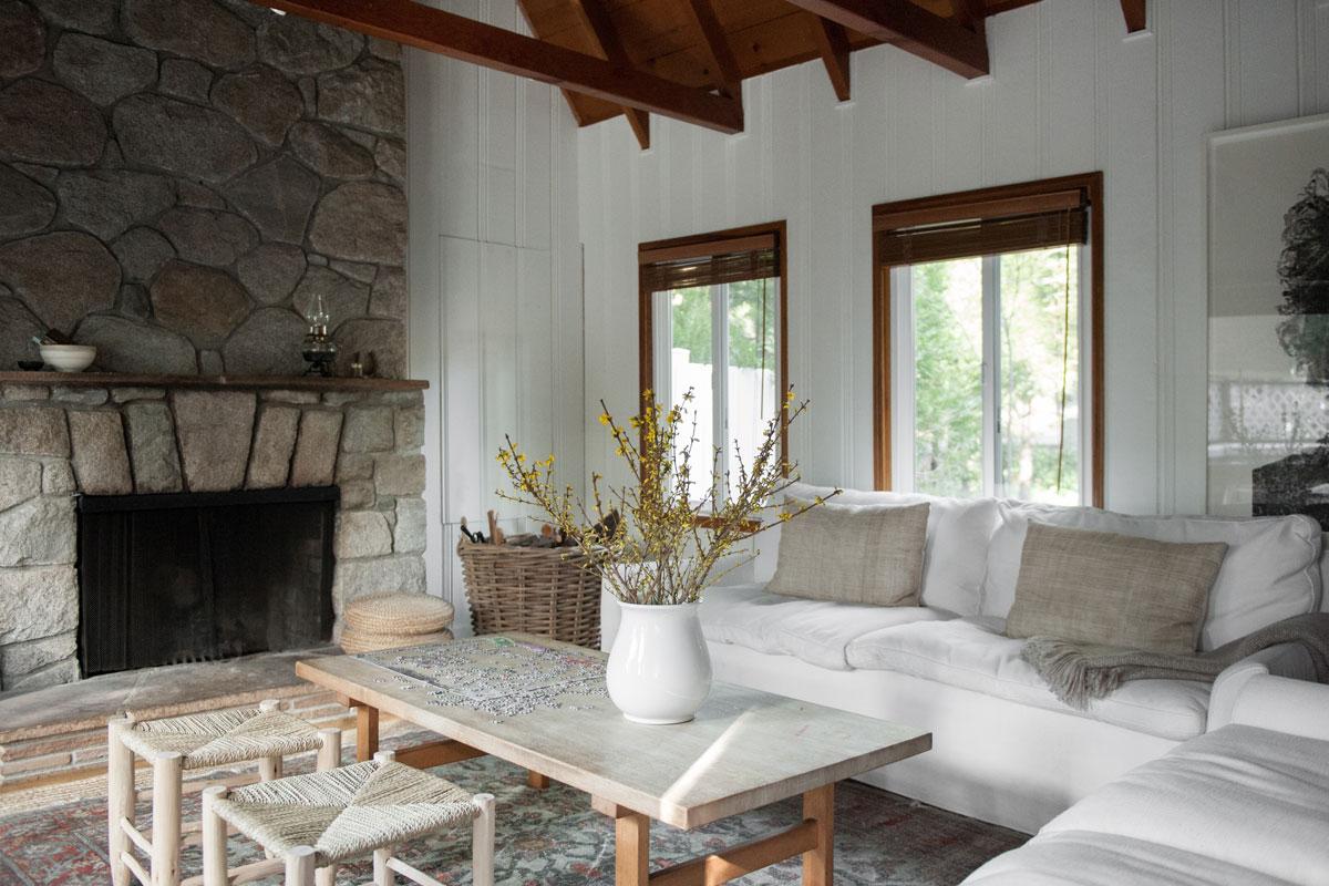 Inside Leanne Citrone's Cozy Arrowhead Cabin 2