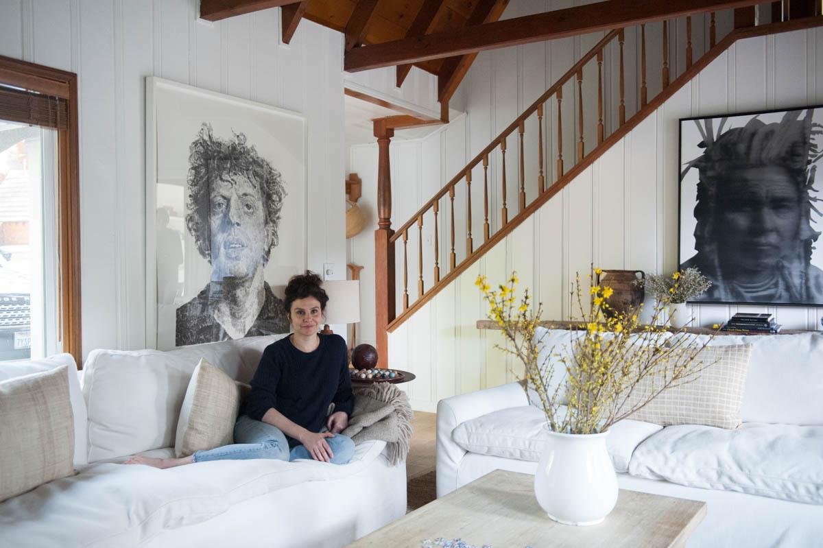 Inside Leanne Citrone's Cozy Arrowhead Cabin
