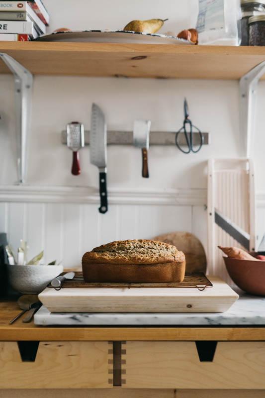The Well Woman's Banana Buckwheat Bread