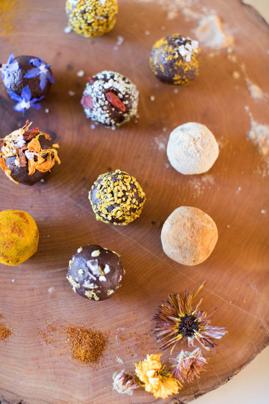 Raw Chocolate Truffles from Women's Heritage
