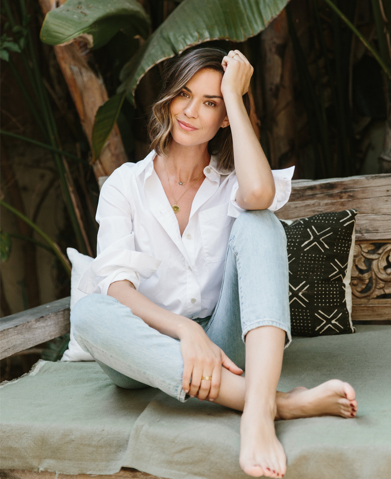 Acting Natural with Supermom Odette Annable