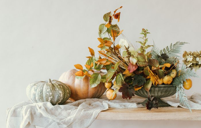 Making an Autumnal Arrangement with Moon Canyon