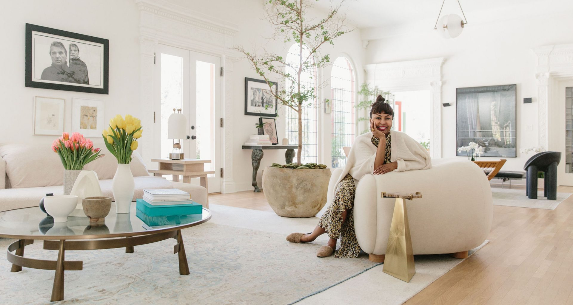 Inside Brigette Romanek's Rocker Estate Turned Breathtaking Abode