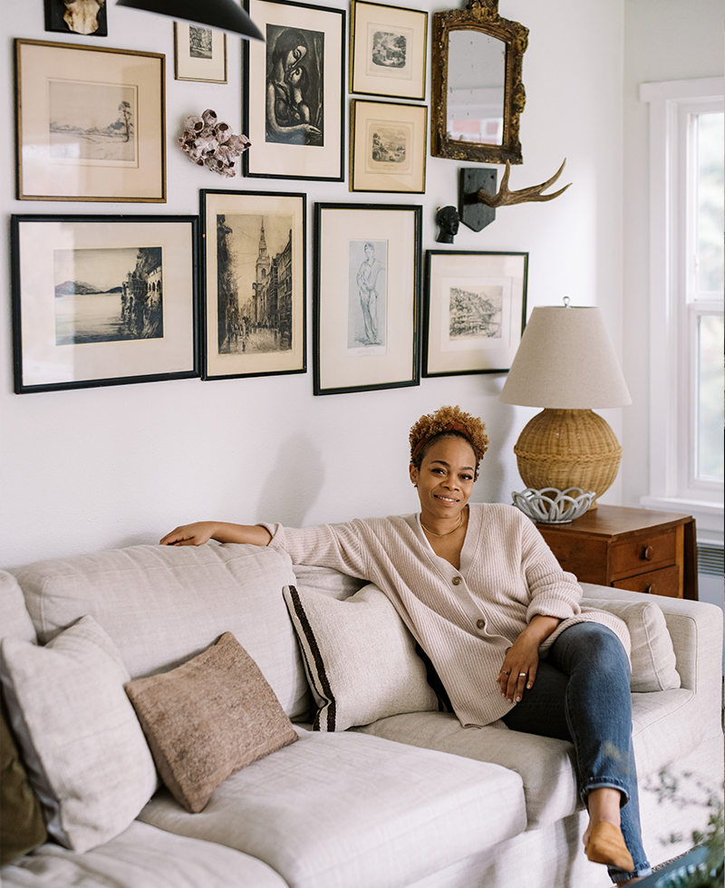How This Blogger Makes Any Space Feel Like Home