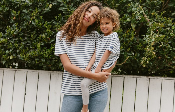 Striped Simplicity: An Inside Look at Saint James x Jenni Kayne