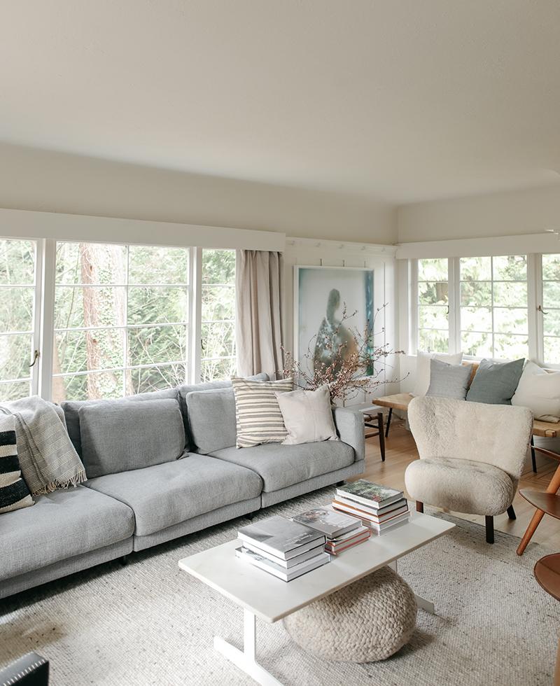Inside Interior Designer Sophie Burke's Peaceful Vancouver Home