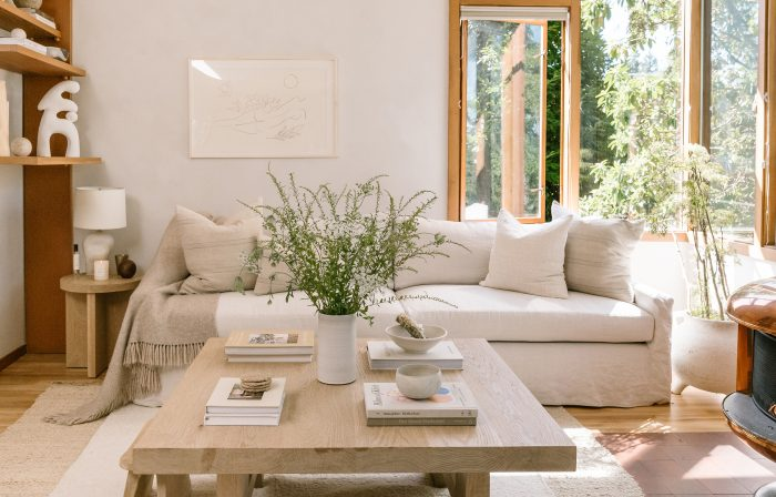 Our VP of Brand Creative's Expertly Curated Living Room